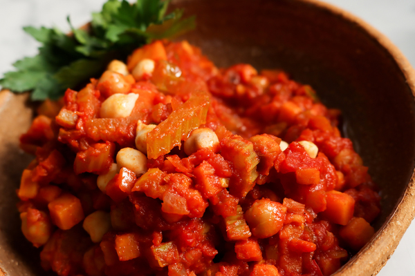 Harissa vegetables